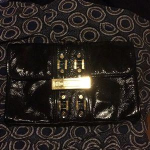 Tory Burch Black Patton Clutch Bag